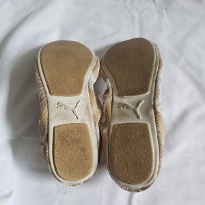Puma Shoes - Puma Beige Tropical Rudolf Dassler Flats Size 7
